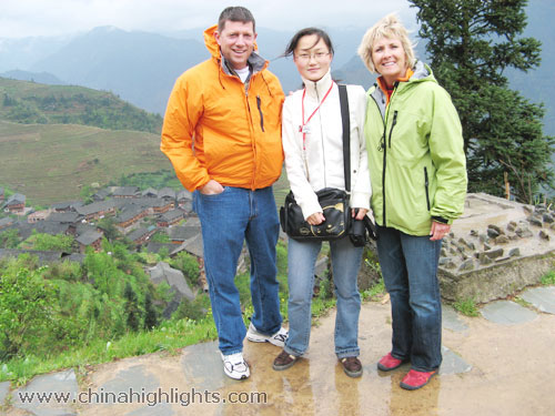 Grace with Customers in Longsheng