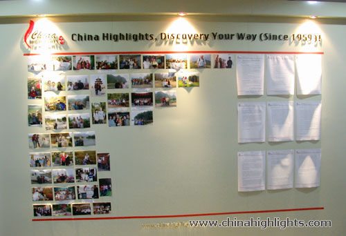 China Highlights Photo Wall