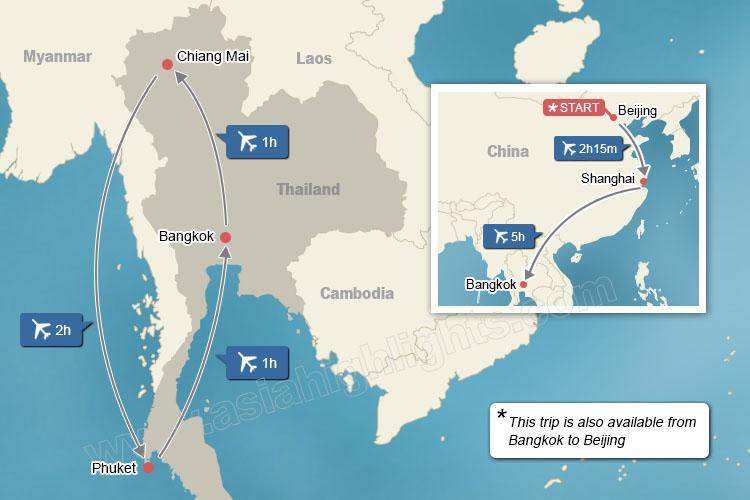 15-Day China and Thailand Highlights Tour on phitsanulok thailand map, ayutthaya thailand map, nakhon ratchasima thailand map, suvarnabhumi thailand map, surin thailand map, pathum thani thailand map, trat thailand map, samui thailand map, chanthaburi thailand map, lampang thailand map, chumphon thailand map, kanchanaburi thailand map, bangkok thailand map, phuket thailand map, jomtien thailand map, krabi thailand map, sukhothai thailand map, hat yai thailand map, samutsakorn thailand map, pattaya thailand map,