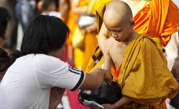 Thai Little Monk