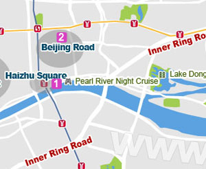 Beijing Road map
