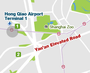 Hongqiao Airport Map