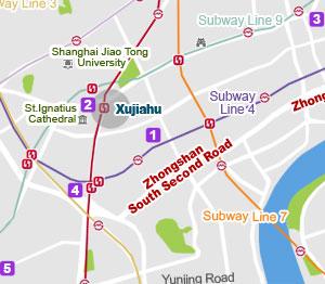 Xuhui map