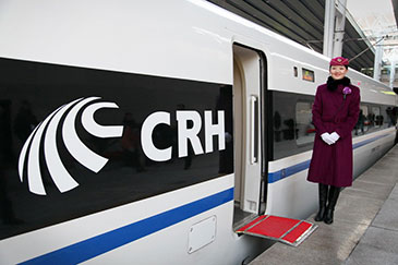 Chinese CRH high-speed train
