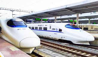 China High-speed trains