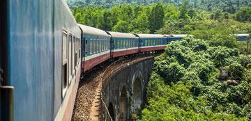 Rutas internacionales de tren