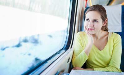 take a trip on the train