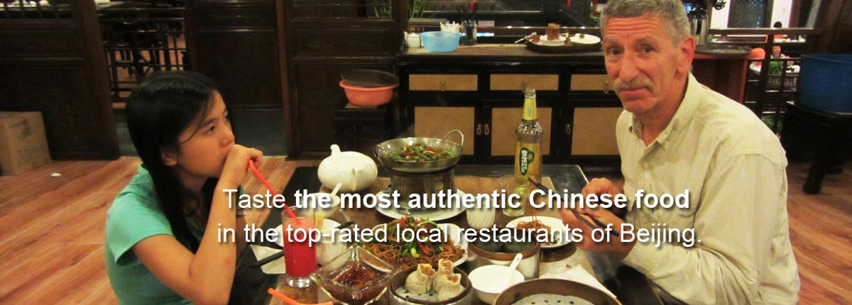Taste the most authentic Chinese food in the top-rated local restaurants of Beijing.