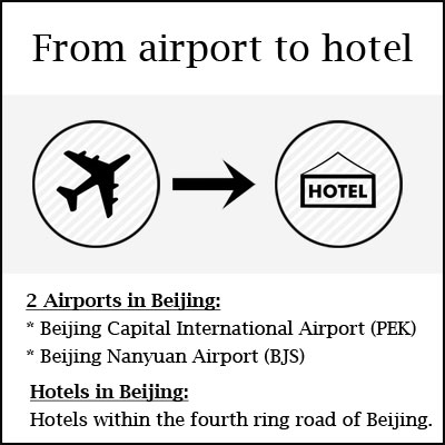 airport to hotel