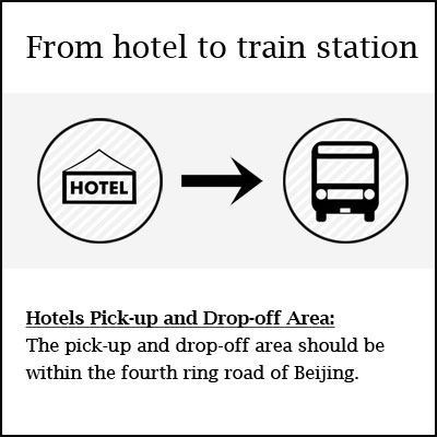 hotel to train station