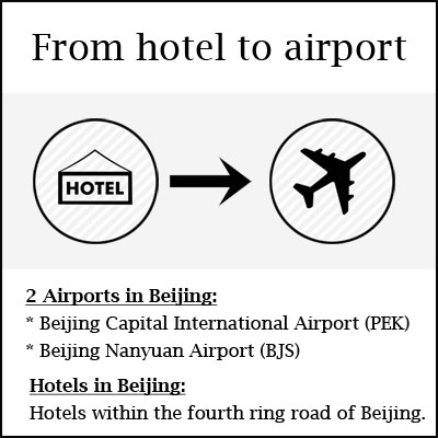 hotel to airport
