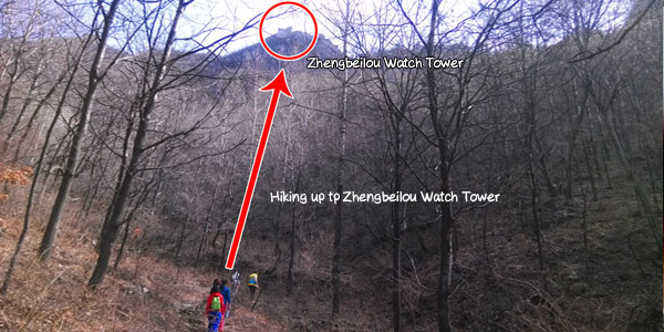 Path way to Zhengbeilou Watch Tower