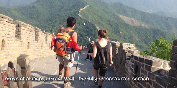 One Day Great Hiking Tour From Jiankou To Mutianyu