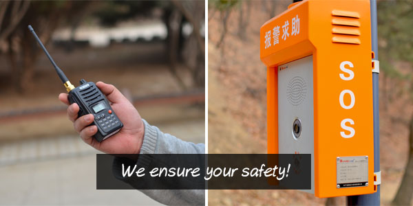 We ensure your safety!