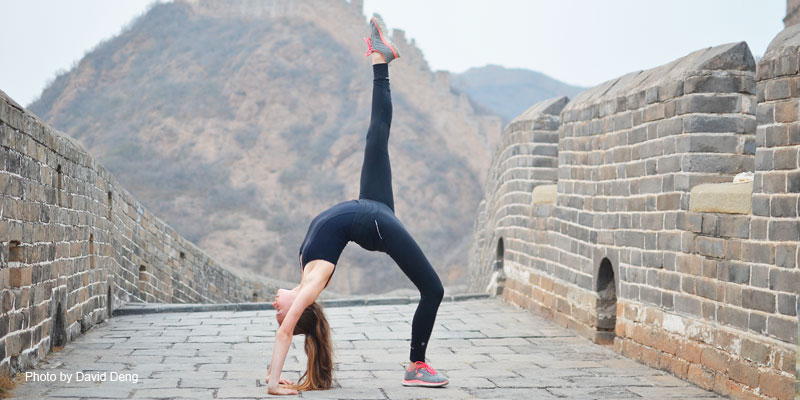 Dance on the Great Wall