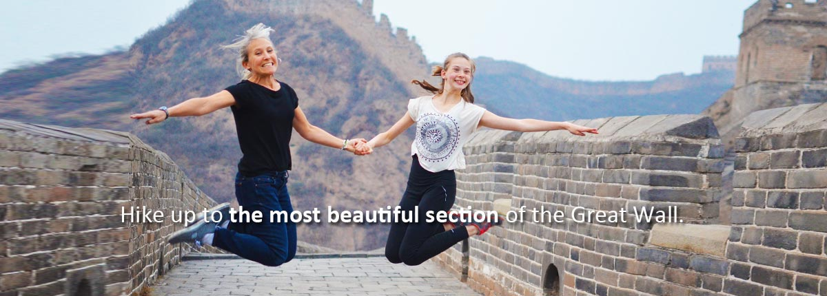 Hike the most beautiful section of the Great Wall