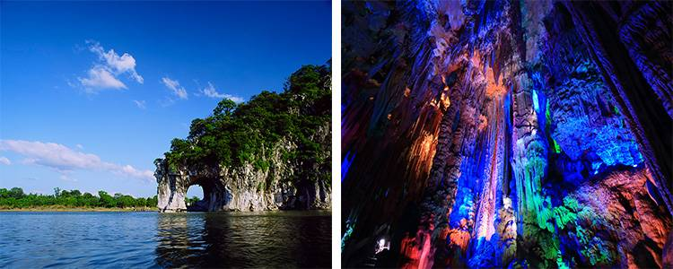 Elephant Trunk Hill and Reed Flute Cave