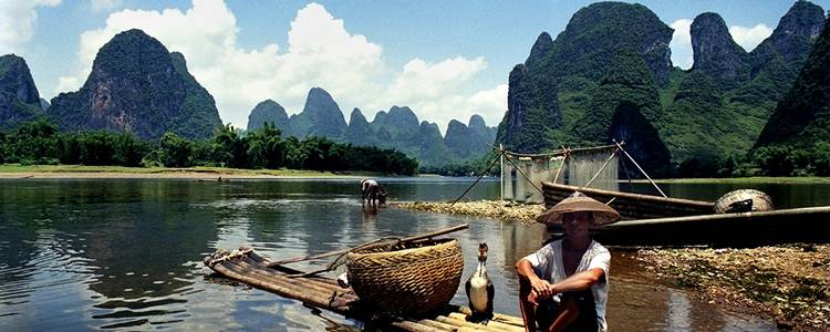Hiking Along Li River