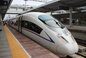 High-speed Railway from Guangzhou to Guilin