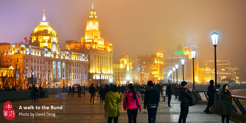 A walk to the Bund
