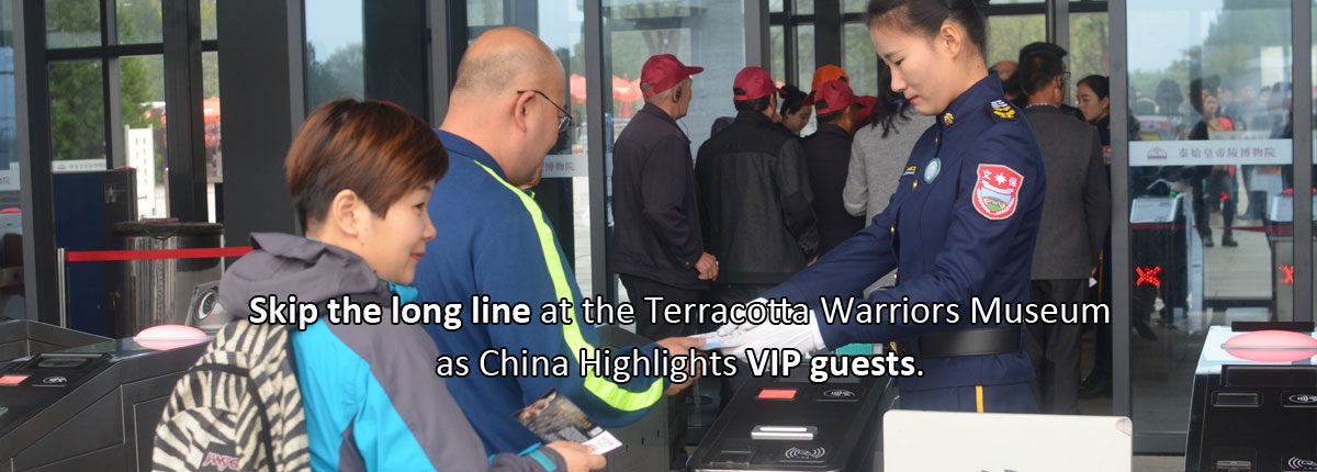 Skip the line at the Terracotta warriors museum