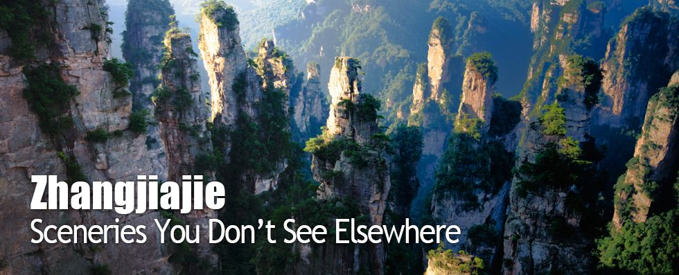 World Heritage Site Zhangjiajie