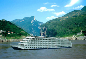 the Yangtze River cruise