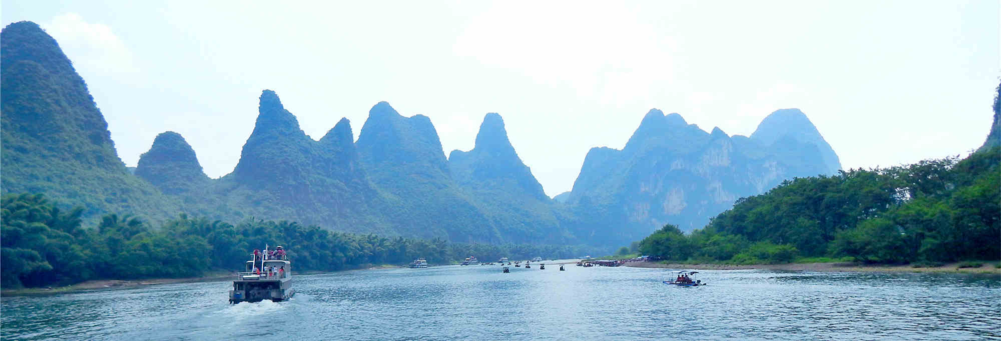 Li River Cruise Ticket With Optional Transfer Service
