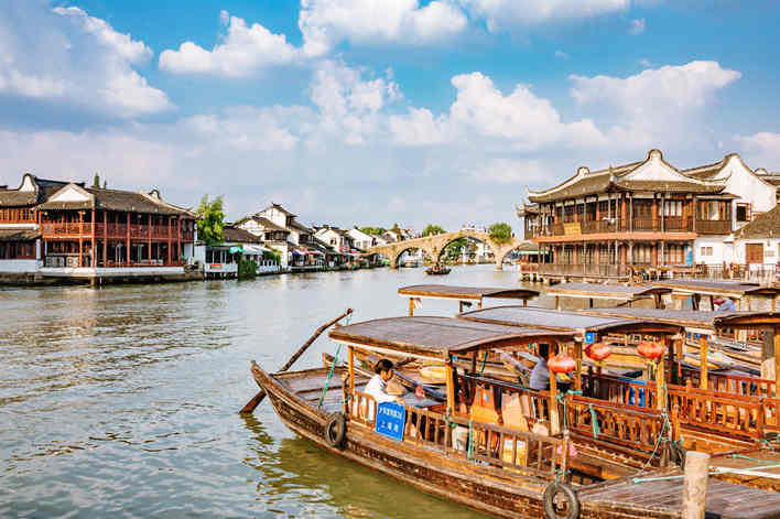 Half-Day Private Shanghai Zhujiajiao Water Town Tour
