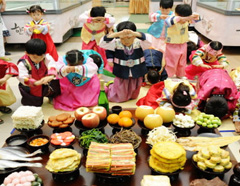 Mid-Autumn Festival in South Korea