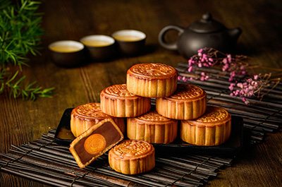 Chinese Mid-Autumn Festival mooncakes