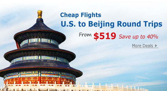 Chicago to Beijing Flight Deals