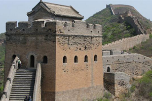 the watchtower of the Jinshanling Great Wall