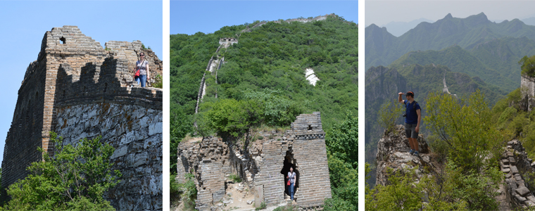 wild Great Wall hikes