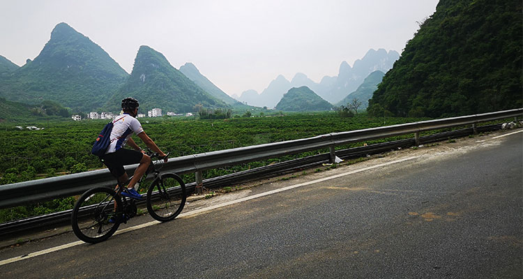Tour of Guangxi bicycle-race track