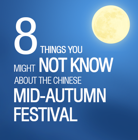 8 things you might not know about the Chinese Mid-¬Autumn Festival
