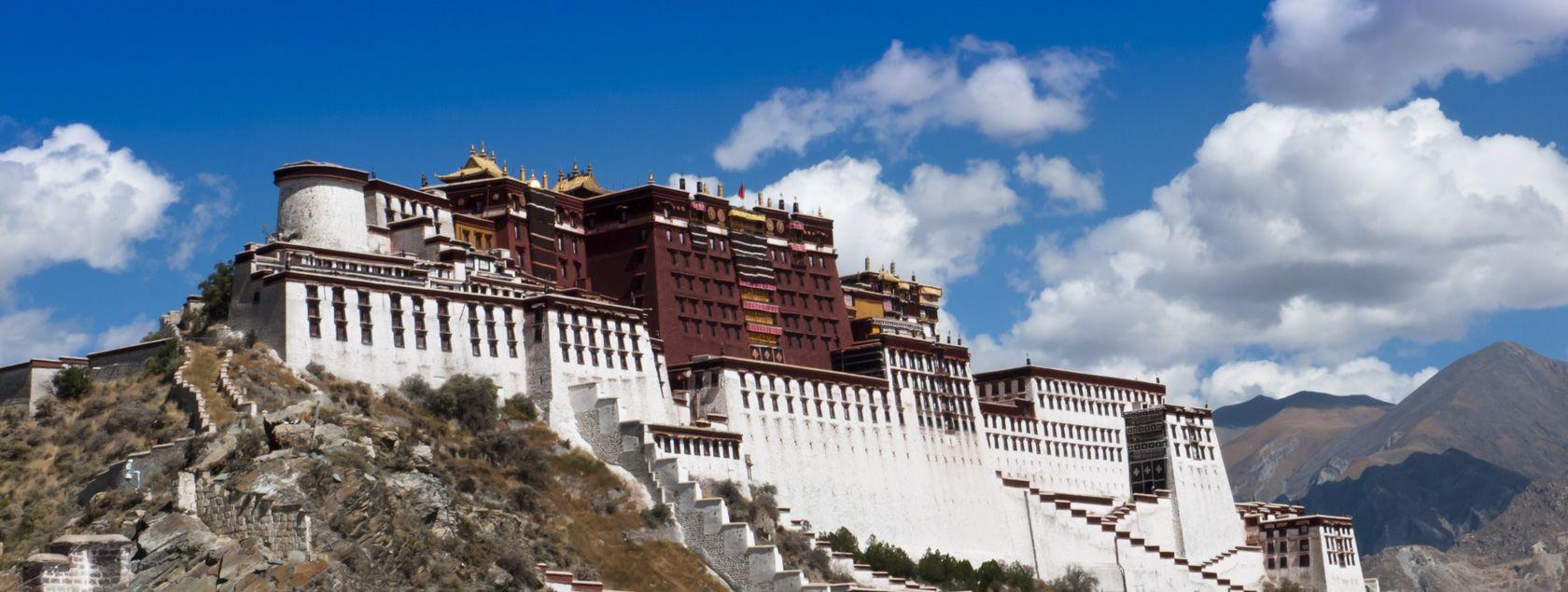 potala place, tibet