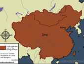 Qing Dynasty Map