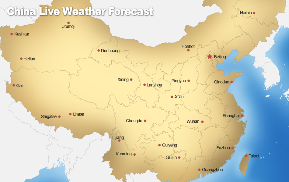 China weather live climate report air quality the best time to china weather guide gumiabroncs Images