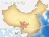 Sichuan Map