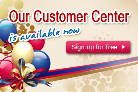 Our Customer Center is available now!