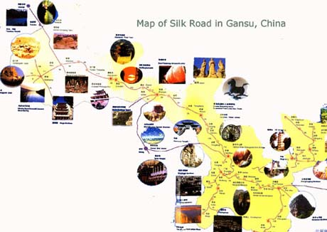 Silk Road Tourist Map