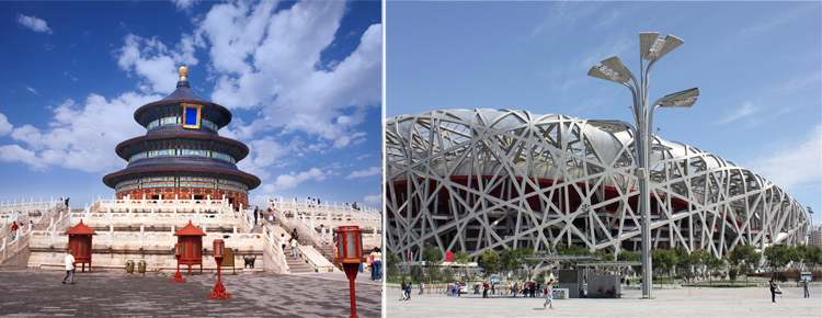 Temple of Heaven and Beijing 2008 Olympics