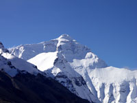 Mount Everest, the world's highest peak