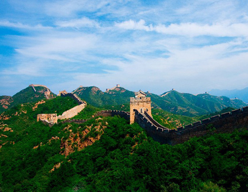 Enjoy superb views through watch towers on the Mutianyu Great Wall, one of the Seven Wonders of the Ancient world.