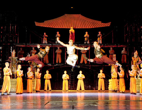 The Legends of Kungfu presented by a teams of China's leading performers.