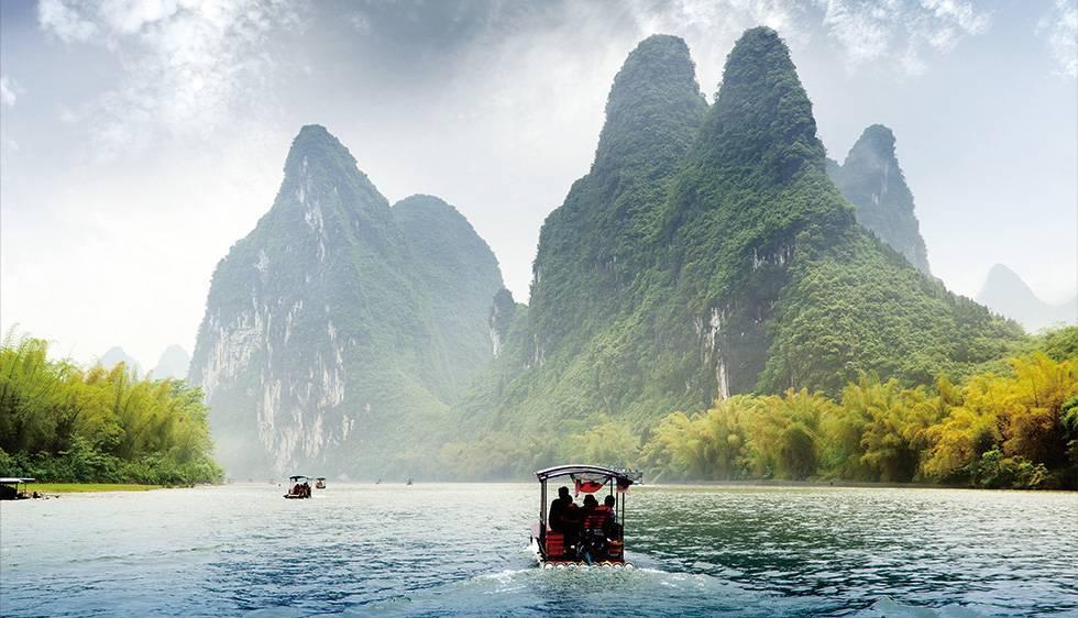 Li River Bamboo Rafting