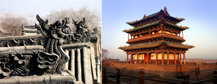 Wang's Family Compound and Shuanglin Temple