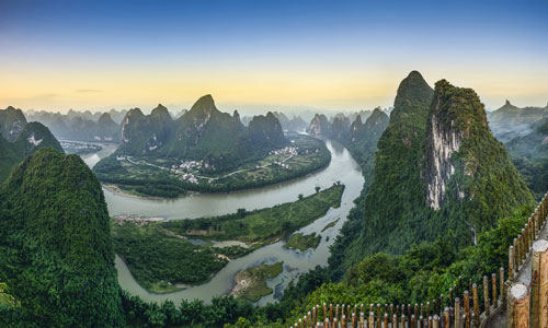 The Mountains and the Li River