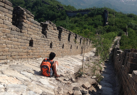Wild Great Wall hiking